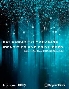 IoT Identity White Paper