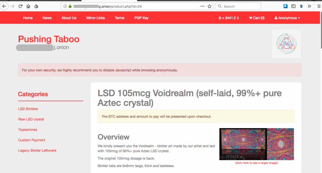 Drugs for Bitcoin Dark Web