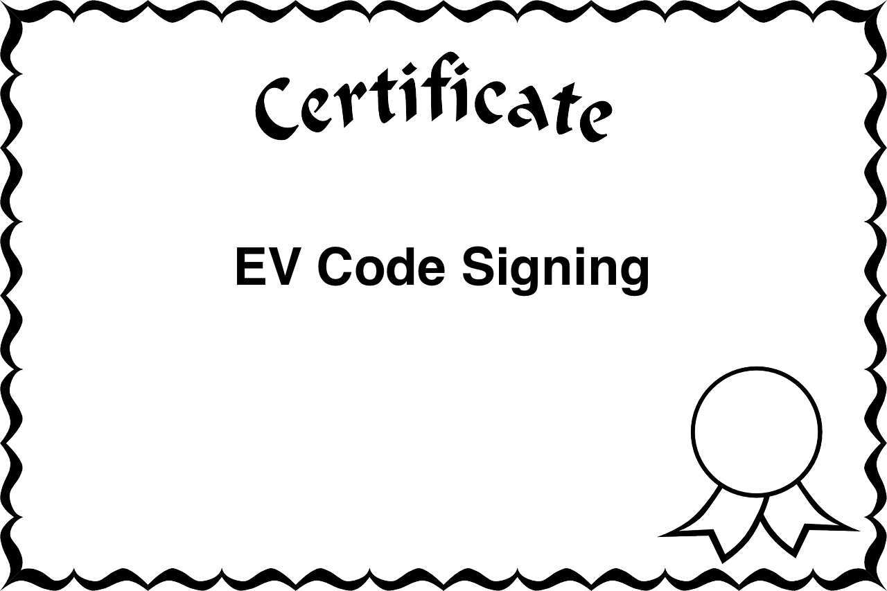 Audit Letter For Compliance With Ev Code Signing Guidelines Vciso