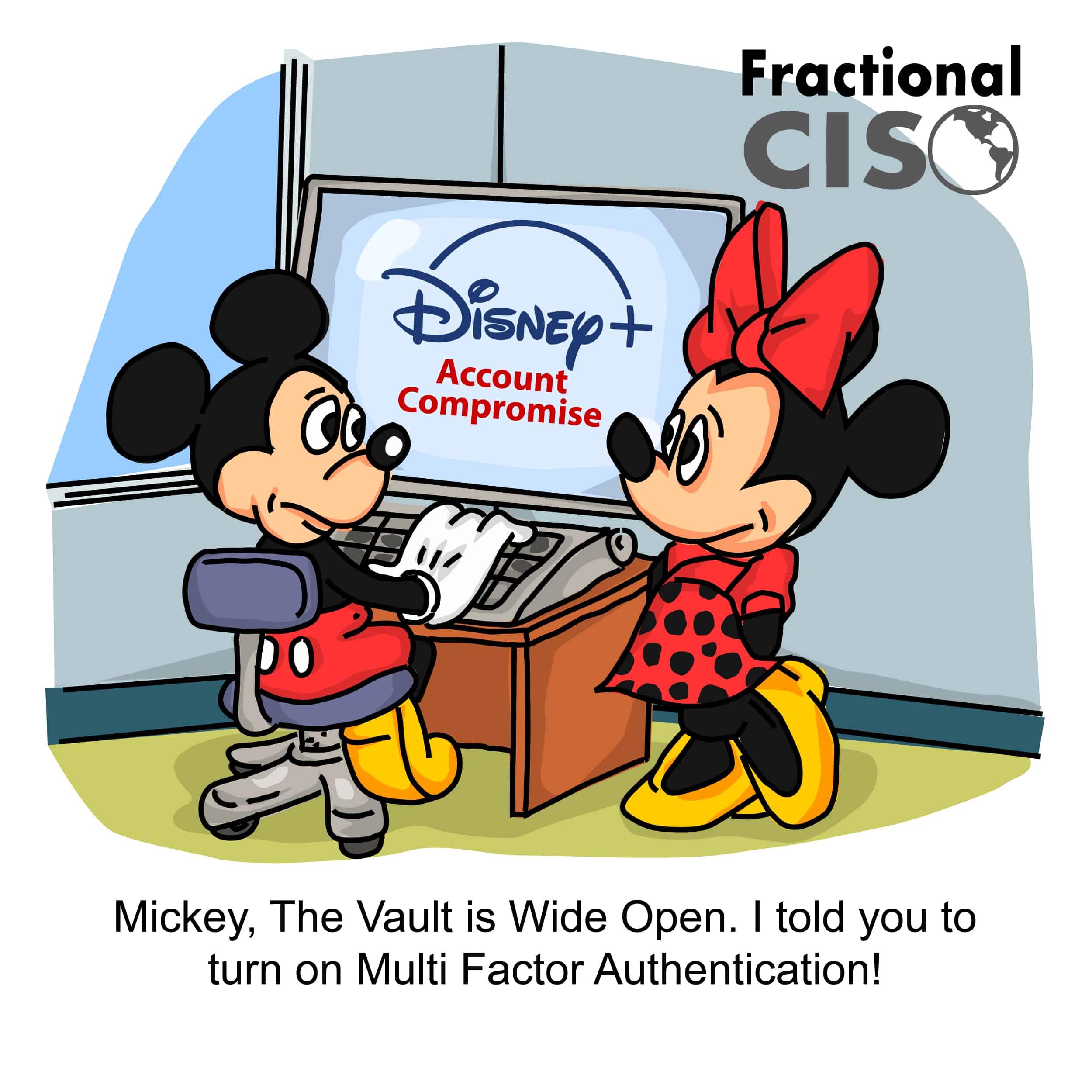 Disney Plus Account Compromise
