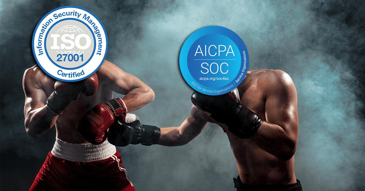 SOC 2 vs ISO 27001
