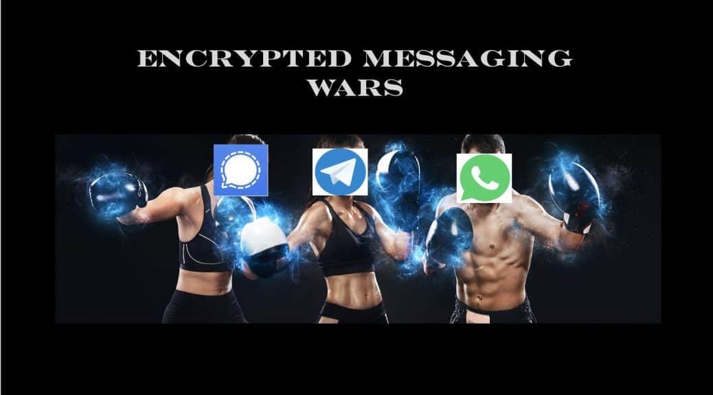 WhatsApp vs Signal vs Telegram Security