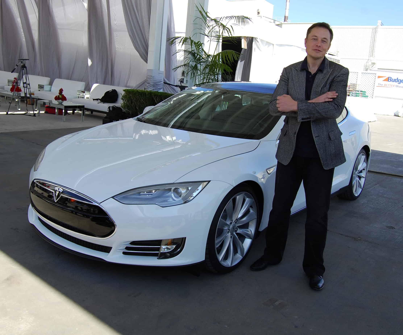 Elon Musk Cybersecuritys Iron Man Tesla