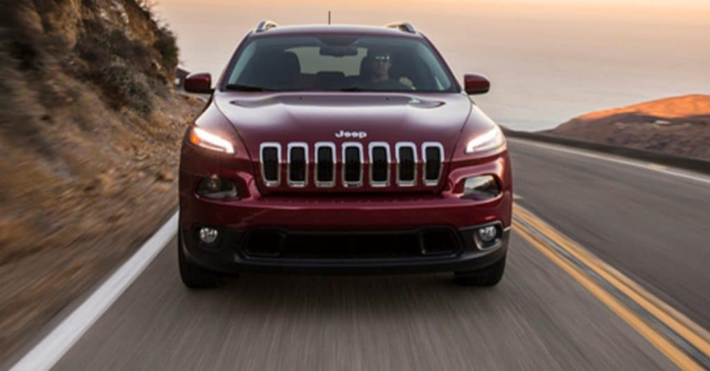 2014 Jeep Cherokee front view